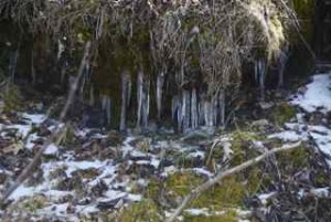 North slope icicles