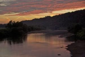Osterdock sunset