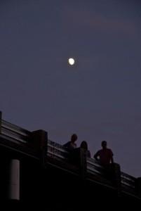 Moon over Osterdock