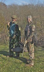 Huntin' buddies